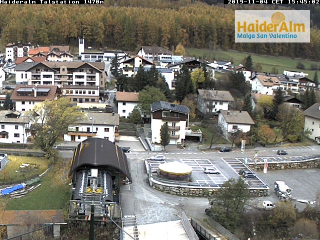 Webcam Haideralm Talstation