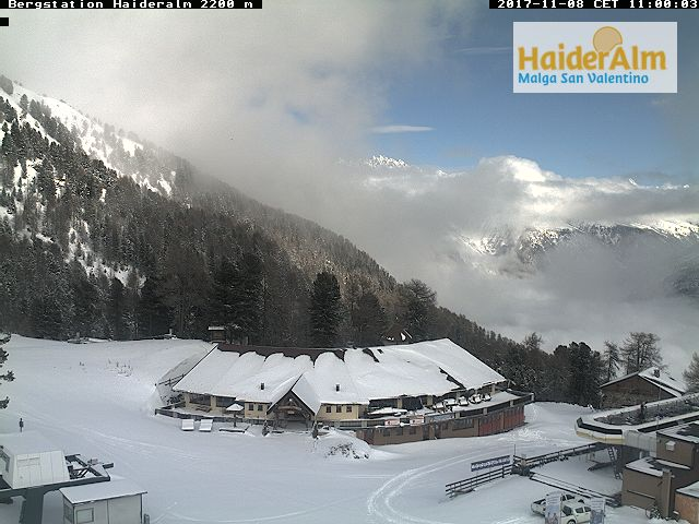 Webcam Haideralm Bergstation St. Valentin